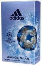 Парфюми, Парфюмерия, козметика Adidas UEFA Champions League Champions Edition - Лосион след бръснене