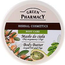 """Парфюми, Парфюмерия, козметика Крем-масло за тяло """"Арган и смокиня"""" - Green Pharmacy"""