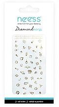 Парфюмерия и Козметика Лепенки за нокти, 3711 - Neess Diamondneess