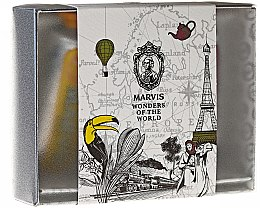 Парфюми, Парфюмерия, козметика Комплект паста за зъби - Marvis Wonders of the World (toothpaste/3x25ml)