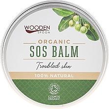 Парфюмерия и Козметика SOS балсам за лице и тяло при възпалена или раздразнена кожа - Wooden Spoon SOS Balm Trouble Skin