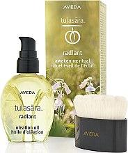 Парфюмерия и Козметика Комплект - Aveda Tulasara Morning Awakening Ritual Kit (f/oil/50ml + brush/1pc)