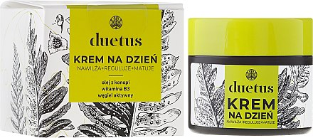 Дневен крем за лице - Duetus