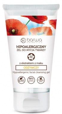 Подхранващ гел за лице с екстракт от мак - Barwa Hypoallergenic Facial Cleansing Gel