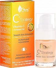 Парфюмерия и Козметика Околоочен крем с витамин С - Ava Laboratorium C+ Strategy Smooth Skin Stimulator Eye Contour Cream