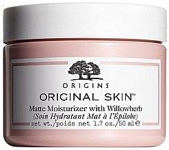 Парфюмерия и Козметика Матиращ крем за лице с екстракт от върбовка - Origins Original Skin Matte Moisturizer With Willowherb