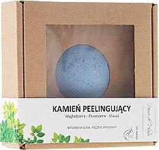 Парфюмерия и Козметика Натурален пилинг камък за лице, син - Pierre de Plaisir Natural Scrubbing Stone Face