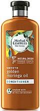 Парфюми, Парфюмерия, козметика Изглаждащ балсам за коса - Herbal Essences Golden Moringa Oil Conditioner