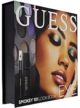 Парфюмерия и Козметика Комплект грим за очи - Guess Beauty Smokey 101 Eye Lookbook (спирала/4ml + молив/0.5g + сенки/12x1.96g)