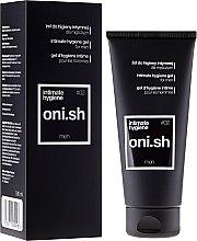 Парфюми, Парфюмерия, козметика Гел за интимна хигиена - Oni.sh Men Intimate Hygiene Gel