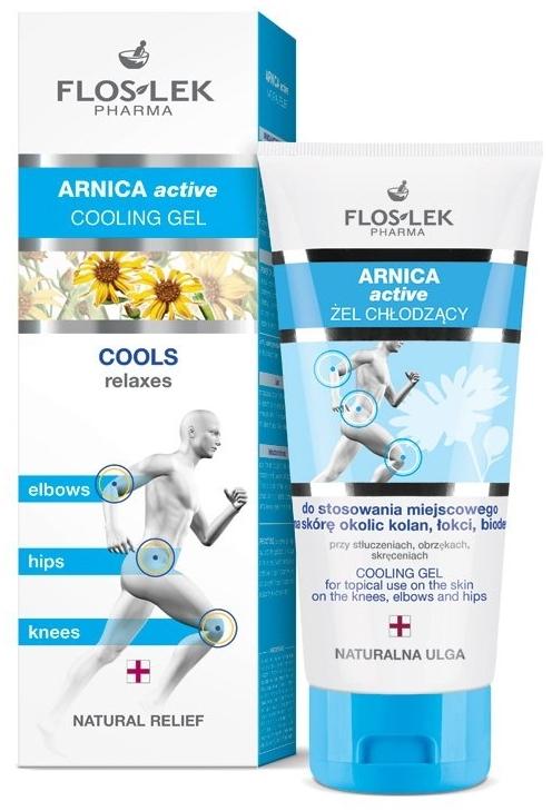 Охлаждащ гел - Floslek Arnica Active Cooling Gel