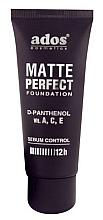 Парфюмерия и Козметика Матиращ фон дьо тен - Ados Matte Perfect Foundation