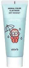Парфюми, Парфюмерия, козметика Хидратираща глинена маска за лице - Skin79 Animal Color Clay Mask Dry Monkey
