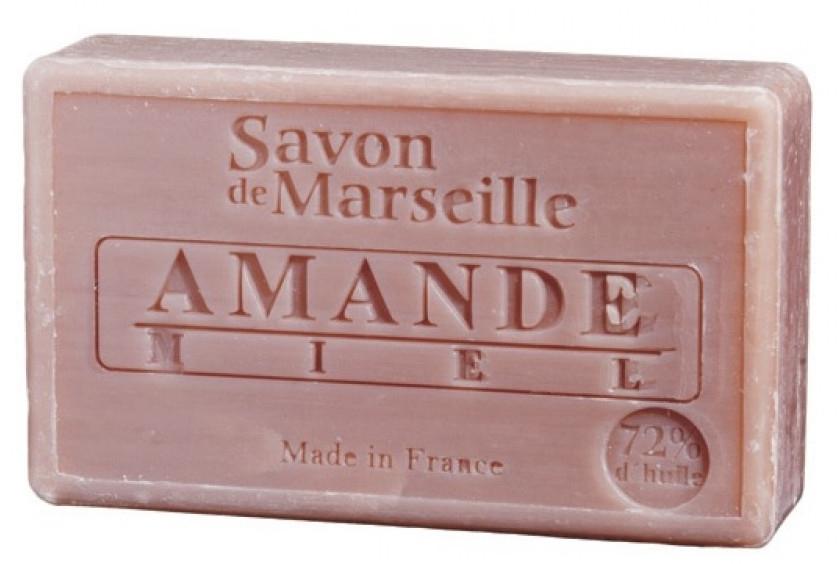"Натурален сапун ""Бадеми и мед"" - Le Chatelard 1802 Savon de Marseille Almond Honey Soap — снимка N1"