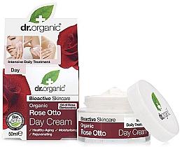 Парфюмерия и Козметика Антистареещ дневен крем за лице с маслодайна роза - Dr. Organic Bioactive Skincare Rose Otto Day Cream