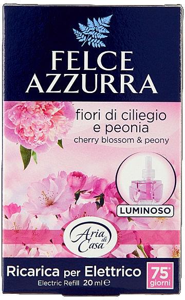 Пълнител за електрически дифузер - Felce Azzurra Peony & Cherry Blossom