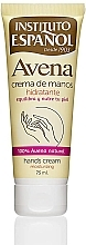 Парфюмерия и Козметика Крем за ръце - Instituto Espanol Avena Hand Cream