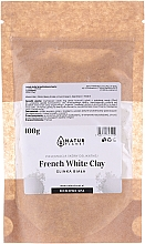 Парфюмерия и Козметика Маска за лице - Natur Planet French White Clay