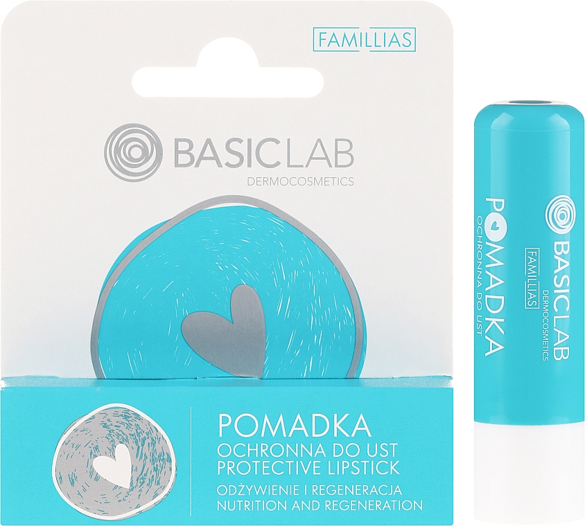 Защитно червило за устни - BasicLab Dermocosmetics Famillias