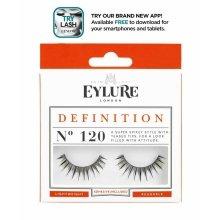 Изкуствени мигли №120 - Eylure Pre-Glued Definition — снимка N1