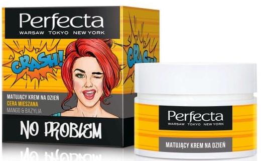 Дневен крем за лице с екстракт от манго и босилек - Perfecta No Problem