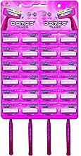 Парфюми, Парфюмерия, козметика Комплект еднократна употреба машини за бръснене, жени, 24бр. - Dorco TR A200