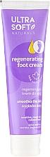 Парфюмерия и Козметика Регенериращ крем за крака - Ultra Soft Naturals Regenerating Foot Cream Smoothes