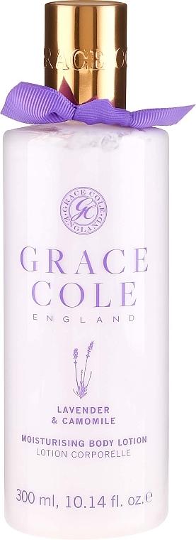 Хидратиращ лосион за вана с лавандула и лайка - Grace Cole Lavender & Camomile Moisturising Body Lotion — снимка N1