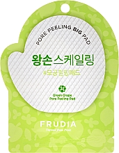 Парфюмерия и Козметика Ексфолиращ тампон за лице със зелено грозде - Frudia Pore Peeling Big Pad Green Grape