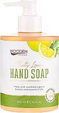 Парфюмерия и Козметика Течен сапун с мента и лимон - Wooden Spoon Minty Lemon Hand Soap
