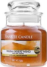 Парфюми, Парфюмерия, козметика Ароматна свещ в бурканче - Yankee Candle Warm Desert Wind