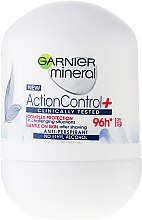 Парфюми, Парфюмерия, козметика Дезодорант - Garnier Mineral Action Control Clinical Rulldeodorant