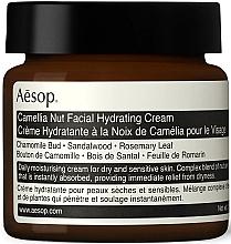 Парфюмерия и Козметика Хидратиращ крем за лице - Aesop Camellia Nut Facial Hydrating Cream