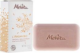 Парфюми, Парфюмерия, козметика Сапун за лице и тяло - Melvita L'Argan Bio Soap With Argan Oil
