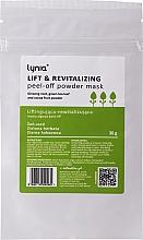 Парфюмерия и Козметика Лифтинг пилинг маска за лице - Lynia Lift & Revitalizing Peel-off Powder Mask