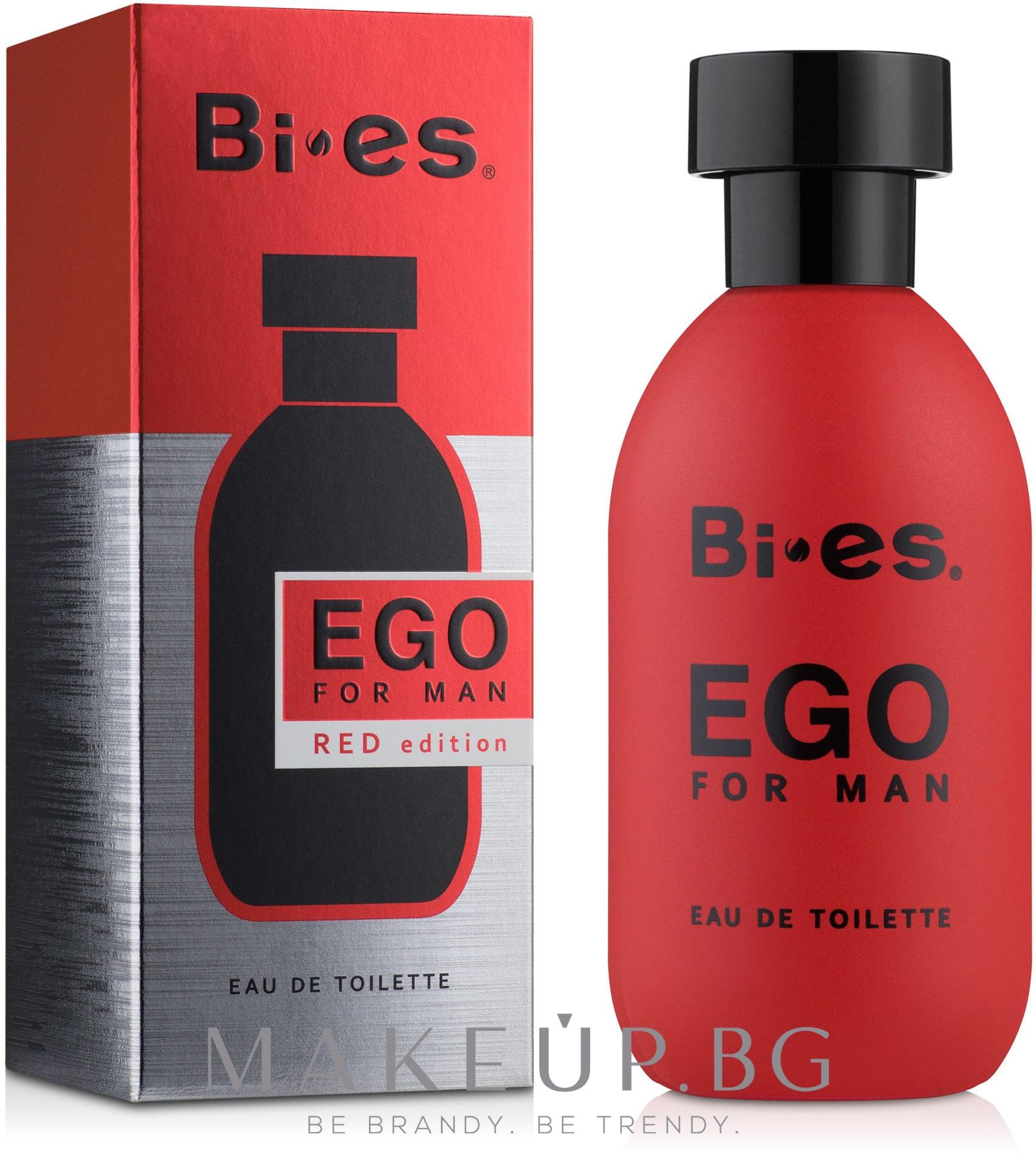 Bi-Es Ego Red Edition - Тоалетна вода — снимка 100 ml