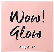 Парфюмерия и Козметика Палитра хайлайтъри за лице - Mesauda Milano Wow! Glow Highlighters
