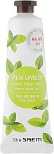 """Парфюмерия и Козметика Парфюмен антибактериален гел за ръце """"Свеж зелен чай"""" - The Saem Perfumed Pure Green Tea Hand Clean Gel"""