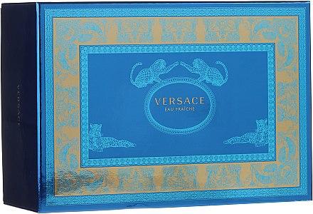 Versace Man Eau Fraiche - Комплект (edt/100ml + edt/10ml + козм. чанта) — снимка N1