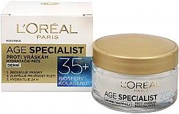 Парфюми, Парфюмерия, козметика Дневен крем против бръчки - L'Oreal Paris Age Specialist 35+