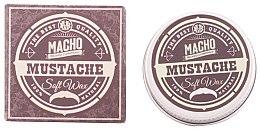 Парфюмерия и Козметика Восък за мустаци - Macho Beard Company Soft Natural Mustache Wax