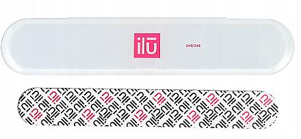Пила за нокти, в калъф - Ilu Nail File With Case Medium 240/240