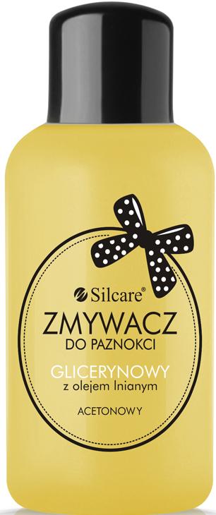 Лакочистител с глицерин и ленено масло - Silcare