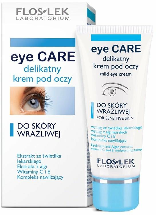 Околоочен крем за чувствителна кожа - Floslek Eye Care Mild Eye Cream For Sensitive Skin