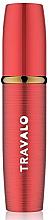 Парфюмерия и Козметика Парфюмен флакон, червен - Travalo Lux Red Refillable Spray