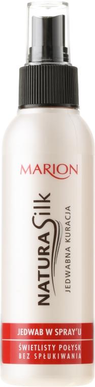 Копринен спрей за коса - Marion Natura Silk Spray