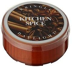 Парфюмерия и Козметика Ароматна чаена свещ - Kringle Candle Kitchen Spice
