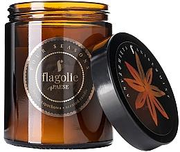 """Парфюмерия и Козметика Ароматна свещ в бурканче """"Анасон и мента"""" - Flagolie Fragranced Candle Anis & Mint"""