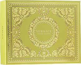 Парфюмерия и Козметика Versace Yellow Diamond - Комплект (тоал. вода/50ml + лос. за тяло/50ml + душ гел/50ml)