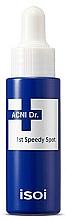 Парфюмерия и Козметика Бързо действащ противовъзпалителен продукт - Isoi Acni Dr. 1st Control Speedy Spot